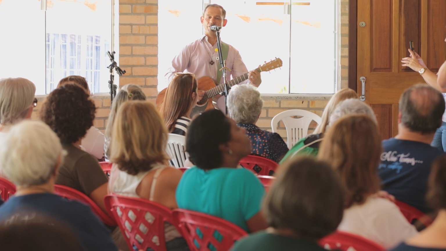 Ney Lima reconstruiu a vida na Comunidade Bethânia