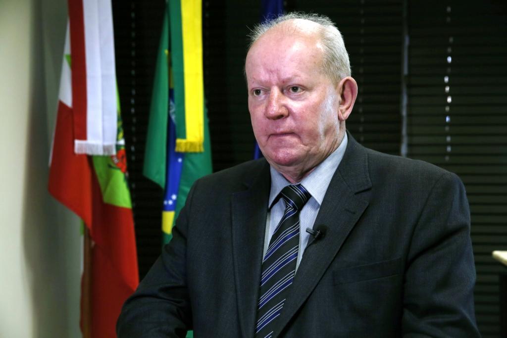 Marcos Vieira, presidente da Comissão de Finanças da Alesc