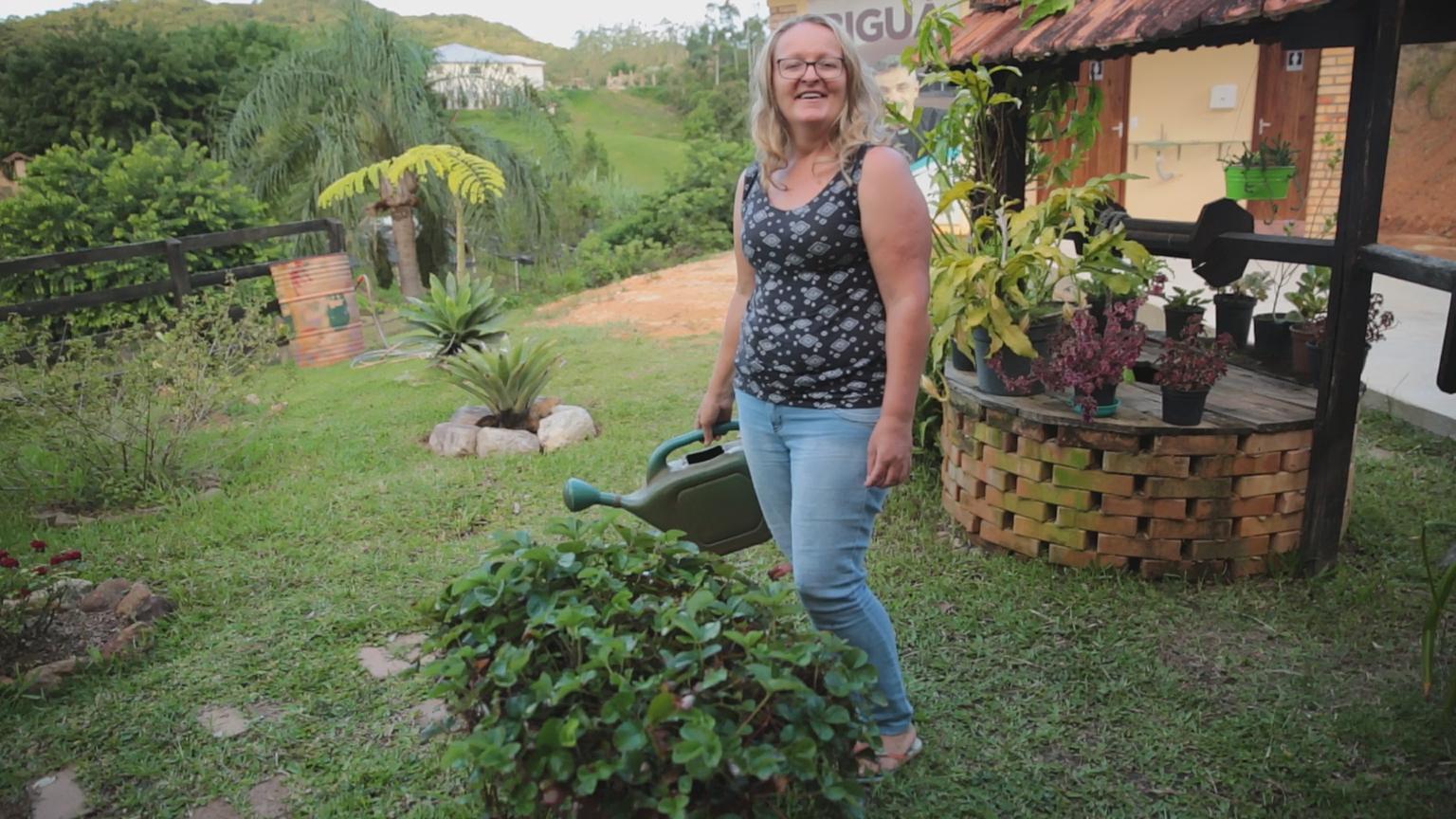 Vanderléia é voluntária na Comunidade Bethânia; uma depressão profunda a levou até padre Léo