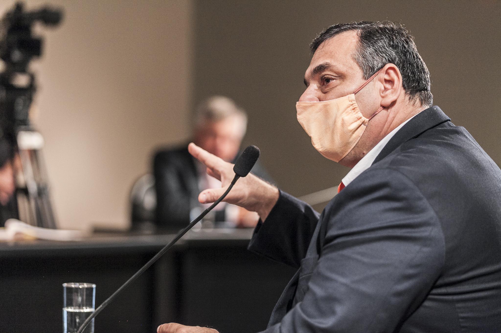 João Batista Cordeiro Júnior, chefe da Defesa Civil Estadual