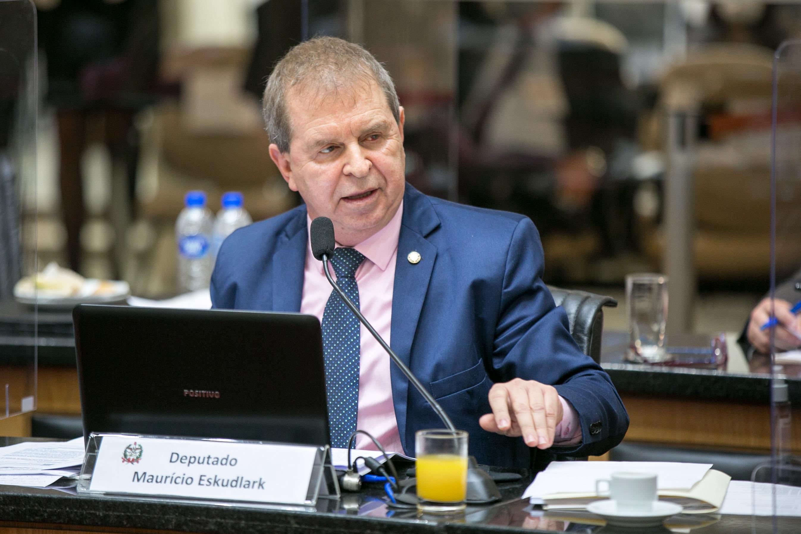 Deputado Mauricio Eskudlark