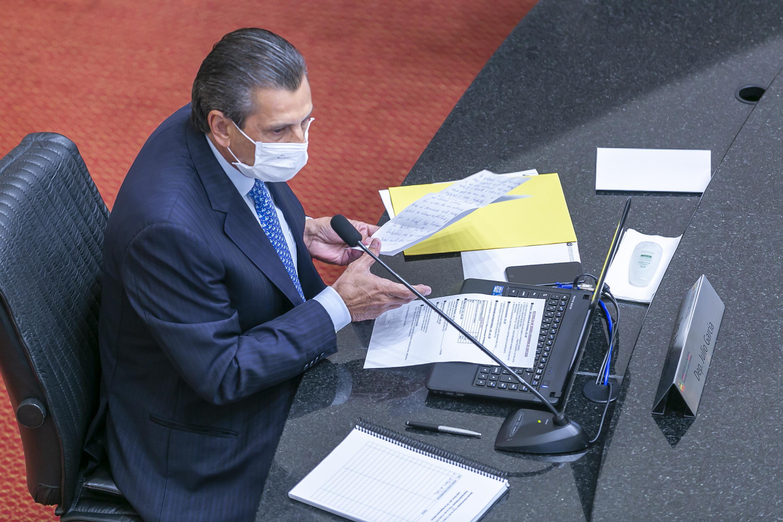Presidente da Alesc, deputado Julio Garcia