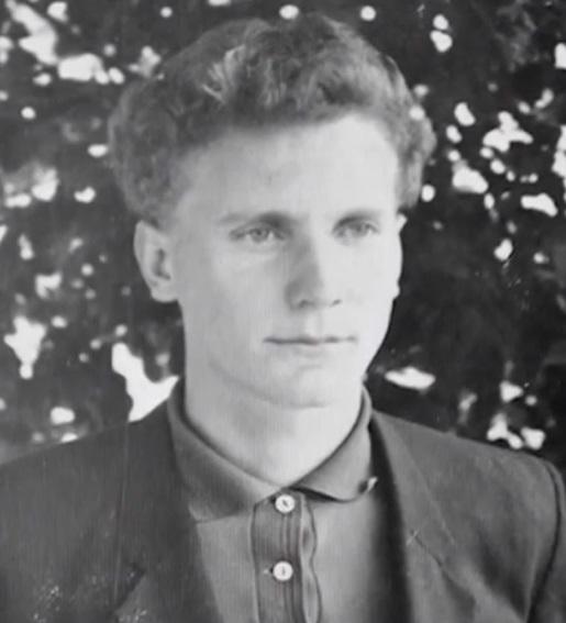 Casildo Maldaner, durante a juventude, em Modelo, no Oeste de SC