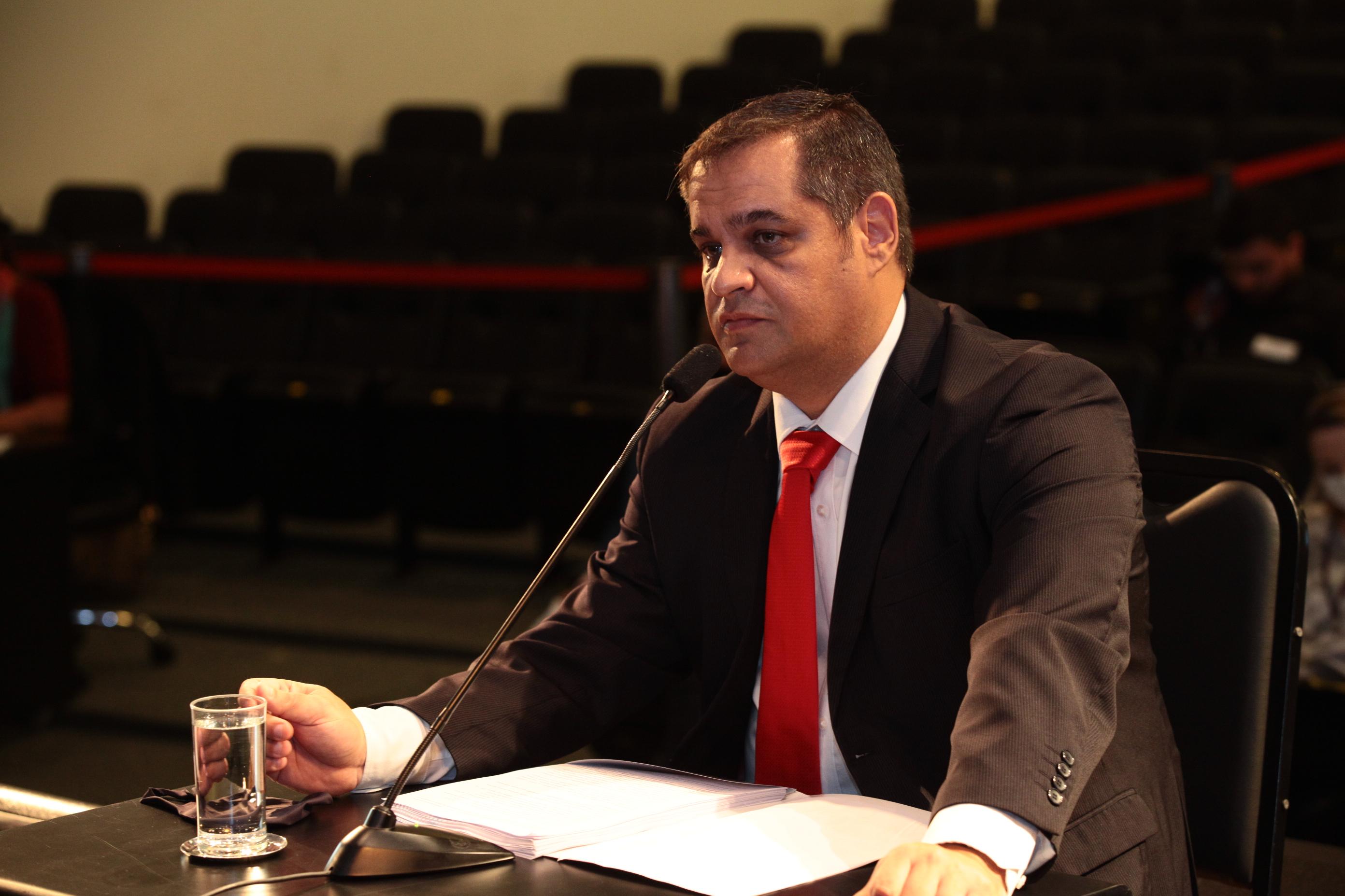Carlos Roberto Costa Júnior, assessor jurídico da Superintendência de Gestão Administrativa da Secretaria de Estado da Saúde