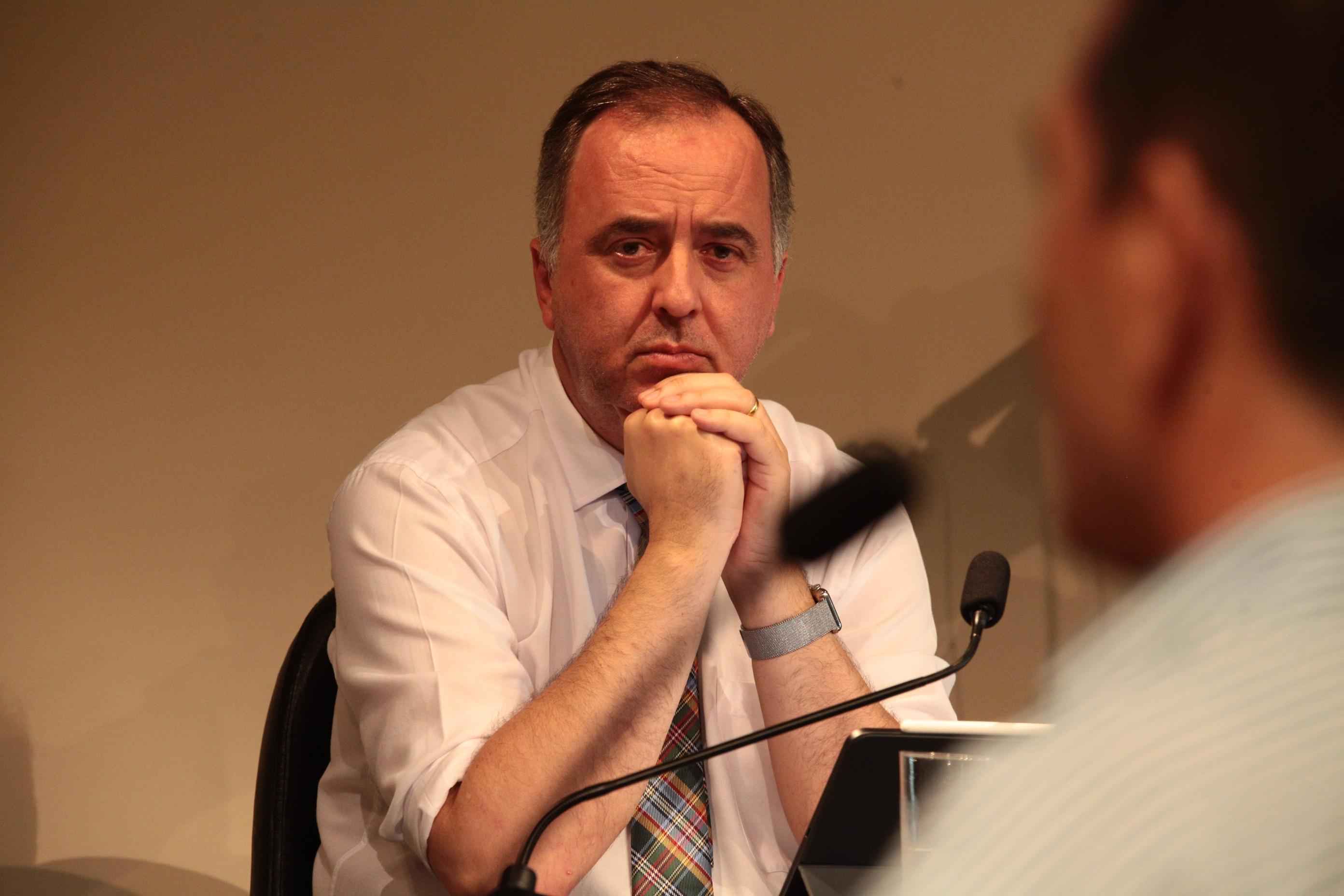 Deputado Kennedy Nunes,que substituiu o deputado Marcos Vieira na reunião da CPI