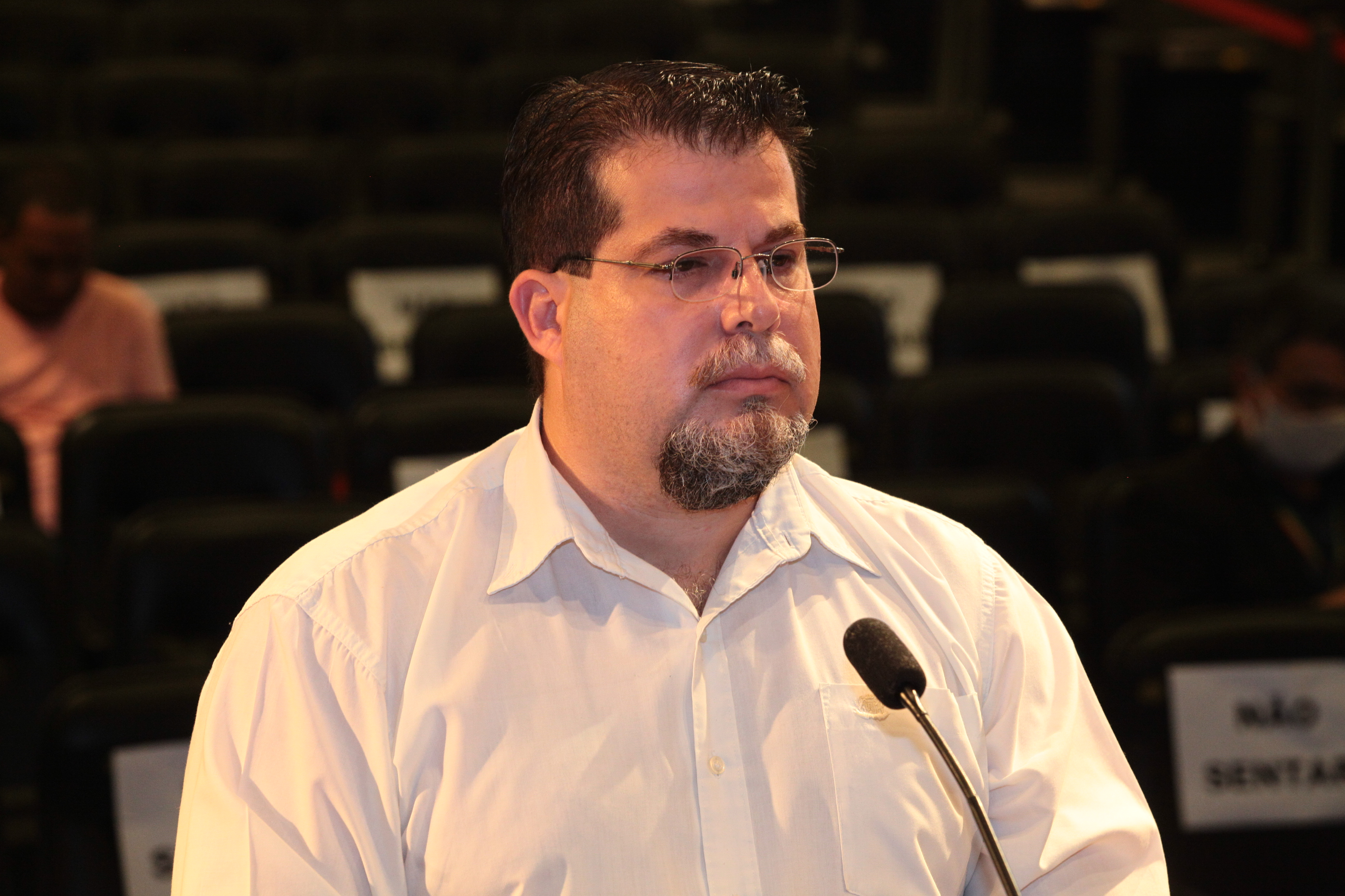 Wagner Tadeu Martins Queiroz, engenheiro eletricista que atua no núcleo de engenharia da SES