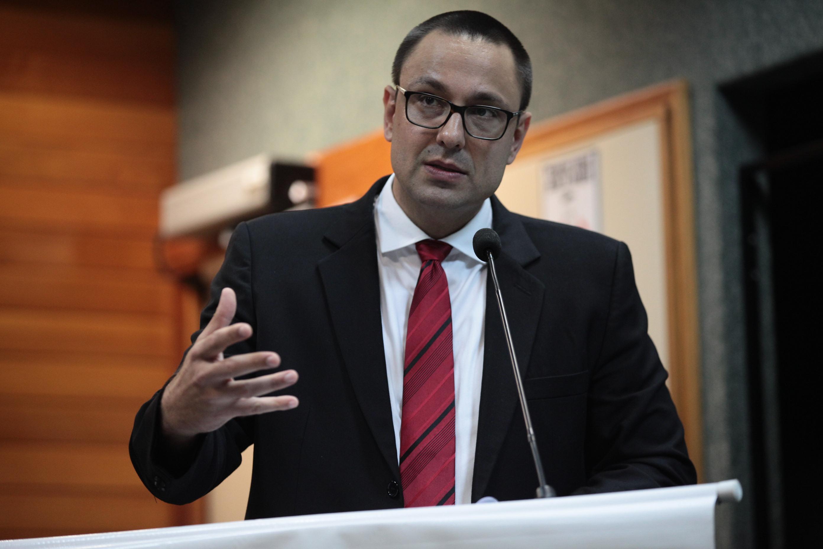 O defensor público Ralf Zimmer Júnior, autor da denúncia