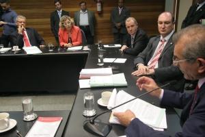 Comissão de Constituição e Justiça se reuniu na manhã desta terça-feira (22) (FOTO: Eduardo Guedes de Oliveira/Agência AL)
