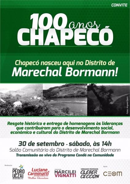 Agência Alesc A Pluralidade Do Centenário De Chapecó Seminário