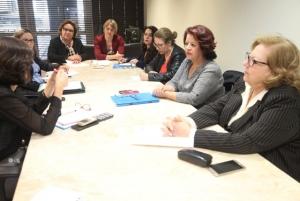 Encontro da Bancada feminina discute violência contra mulheres (Foto: Fábio Queiroz/Agência AL)